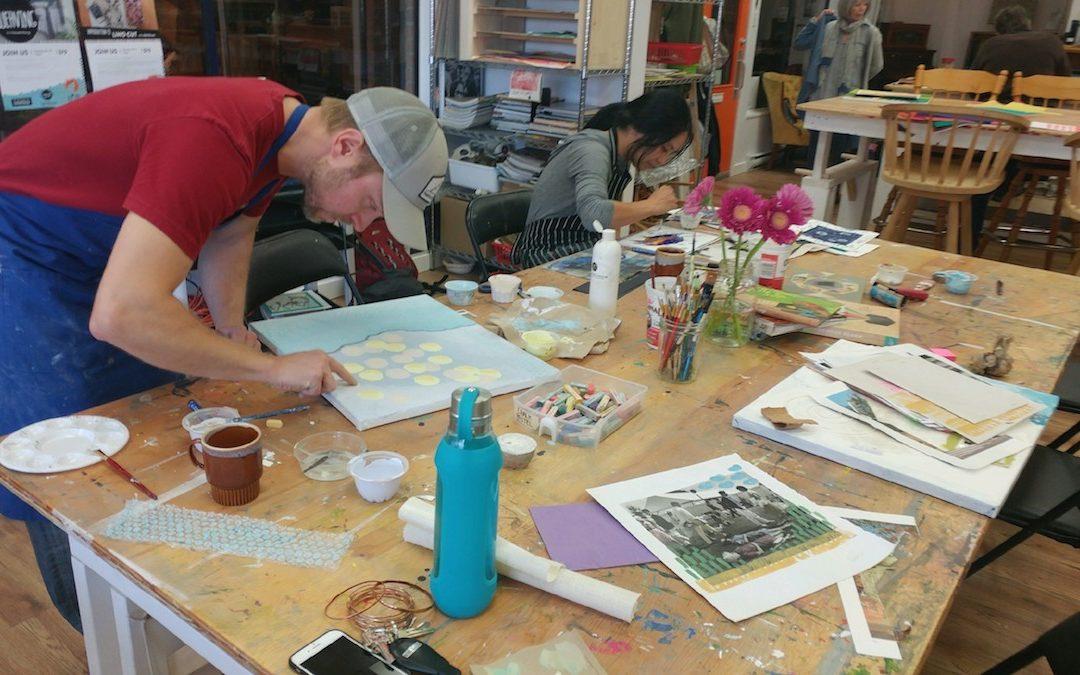 My First Art Class – Week 5 & 6