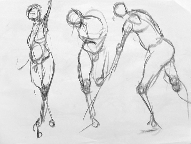 Life Drawing With Instruction Lupine Art Studio