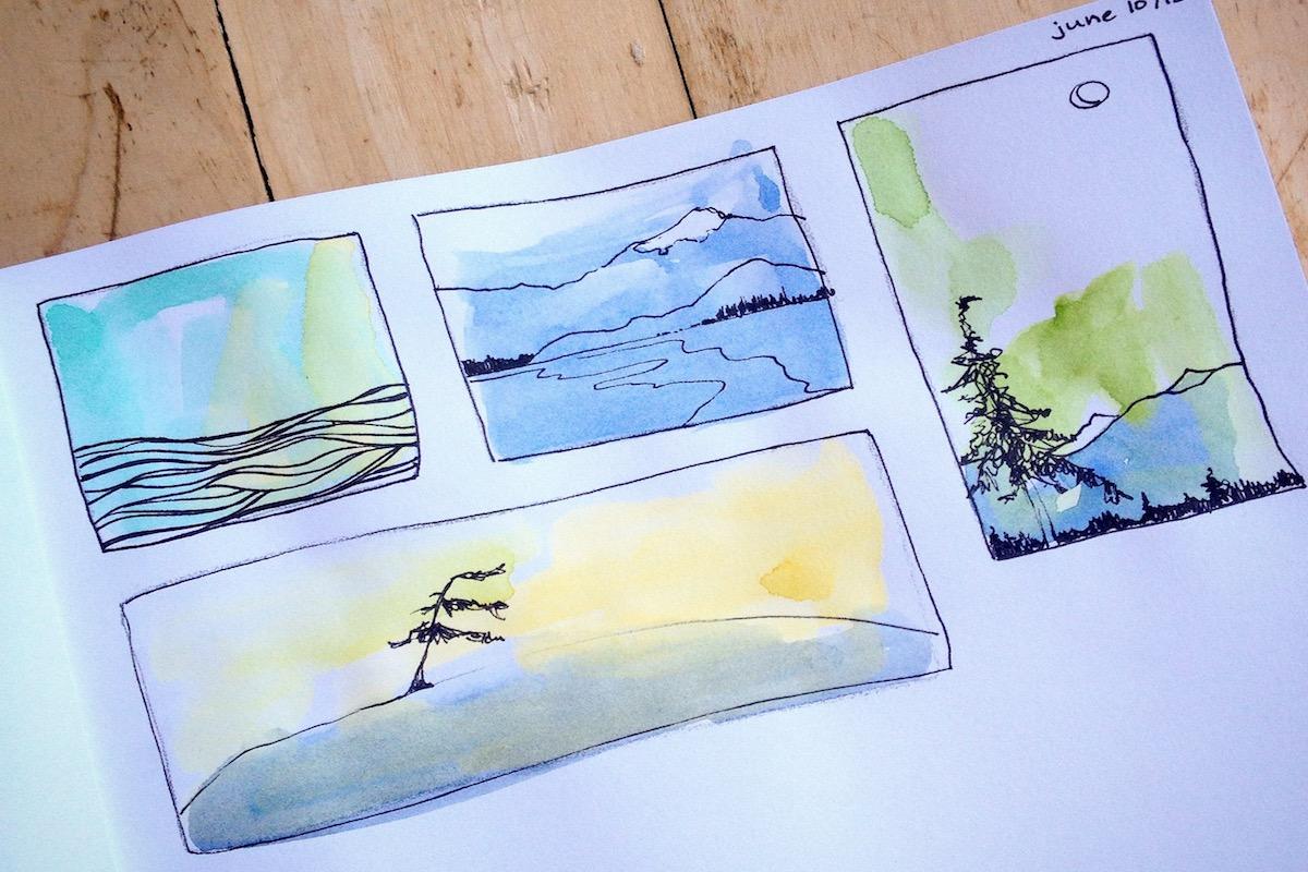 Very Beginner Watercolour Painting Workshop