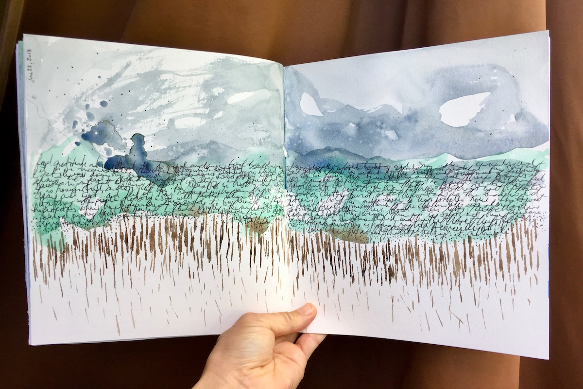 Watercolour Art Journaling – ONLINE