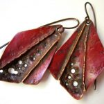 Foldformed Earrings with Cheryl Jacobs