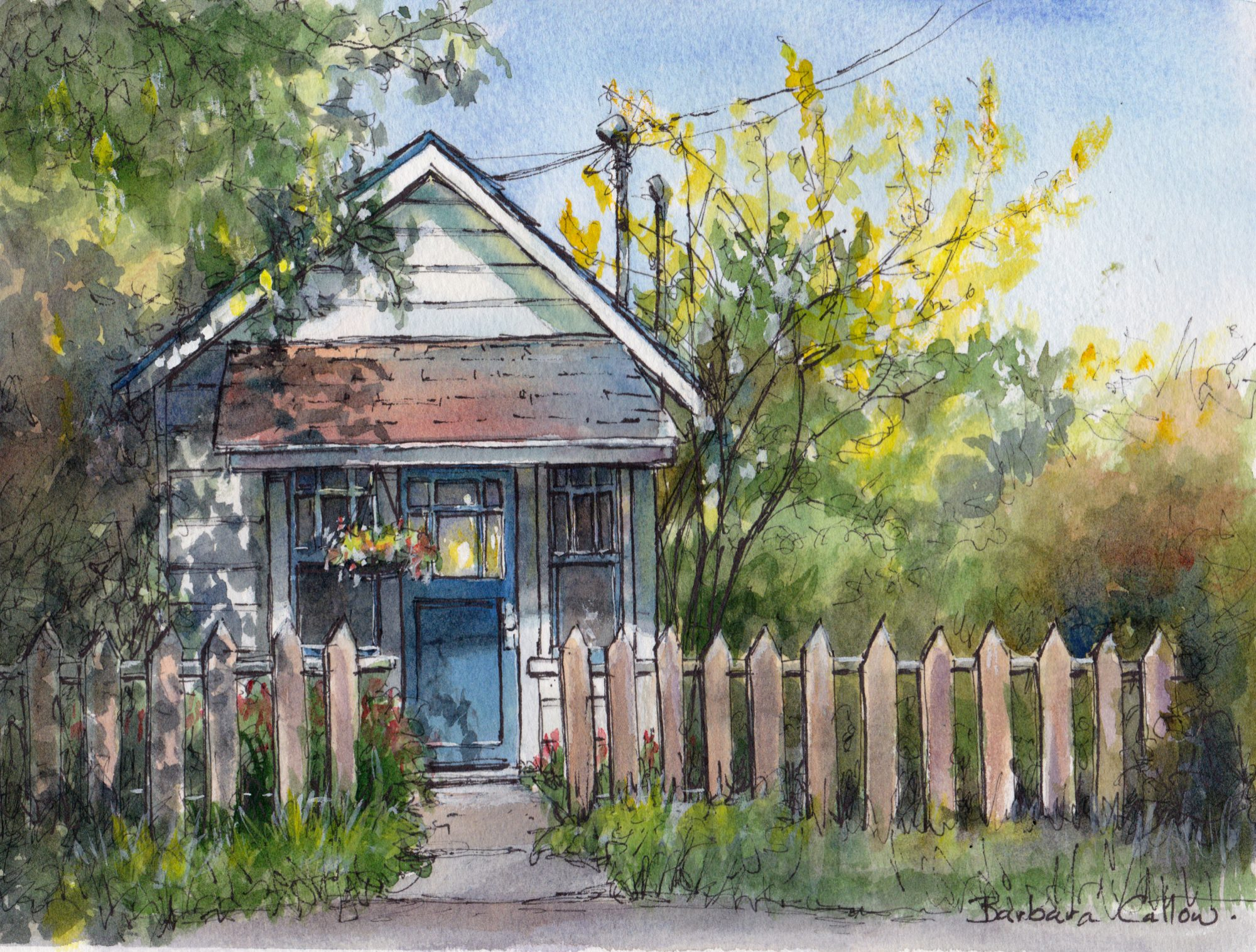 Watercolour and Ink Workshop with Barbara Callow