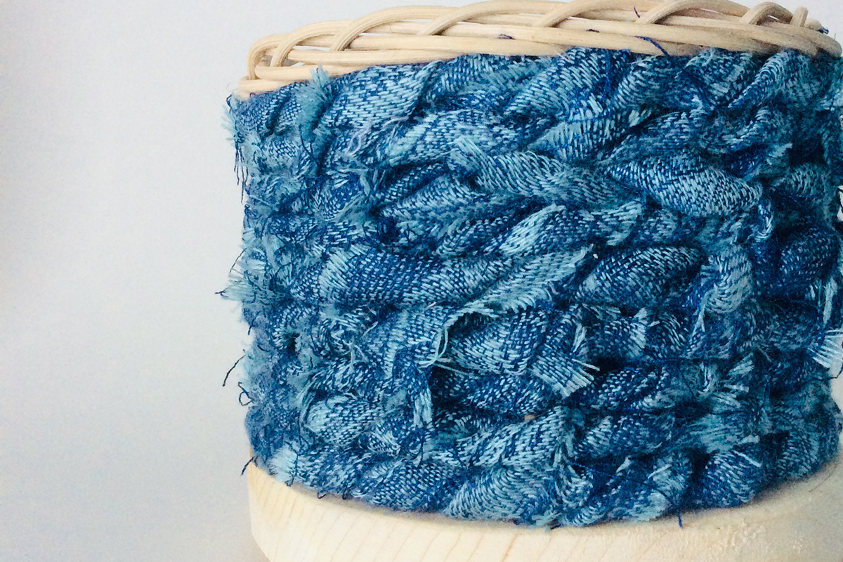 Rag Weave Baskets with Amy Dugas