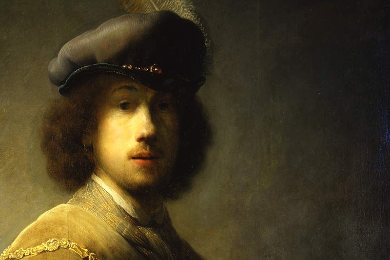 Acrylic Painting 2 – Value, Contrast, and Rembrandt
