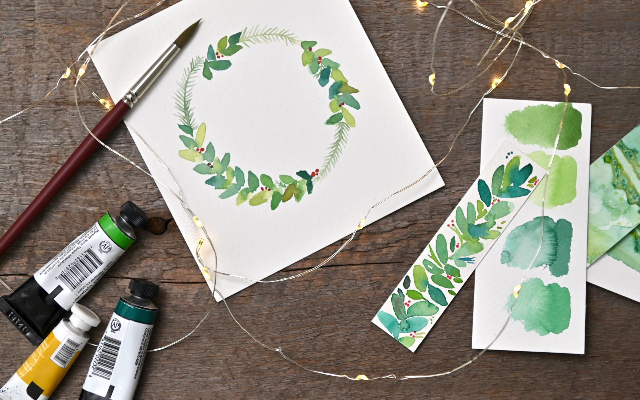 Winter Botanicals in Watercolour with Nicole Warrington
