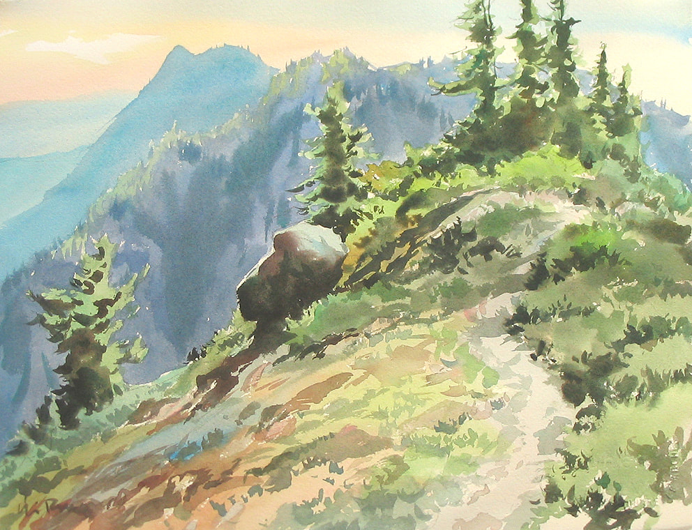 Watercolour 2 – The Incredible Landscape (of Vancouver Island)