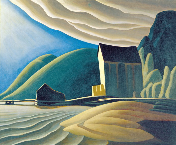 Acrylic Painting 2 – Shape, Emphasis and Lawren Harris – ONLINE